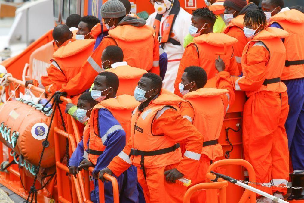 Migrações: Pelo menos 20 mortos em naufrágios nas costas da Líbia e Tunísia