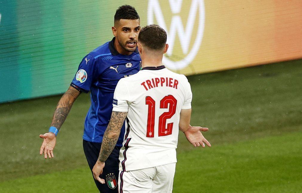 Euro2020: Cólera foi a expressão facial mais vista nos jogos do torneio
