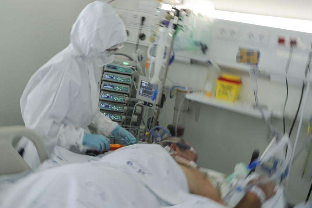 Covid-19: Região Centro com 60 doentes internados em enfermaria e 12 em UCI