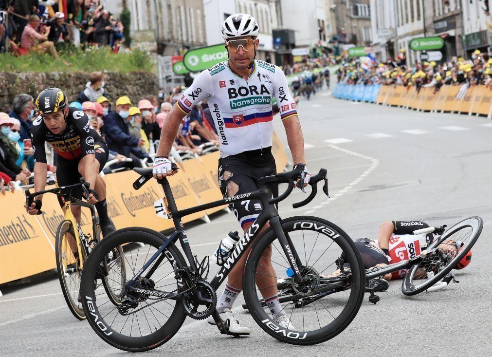 Tour: Peter Sagan operado ao joelho direito