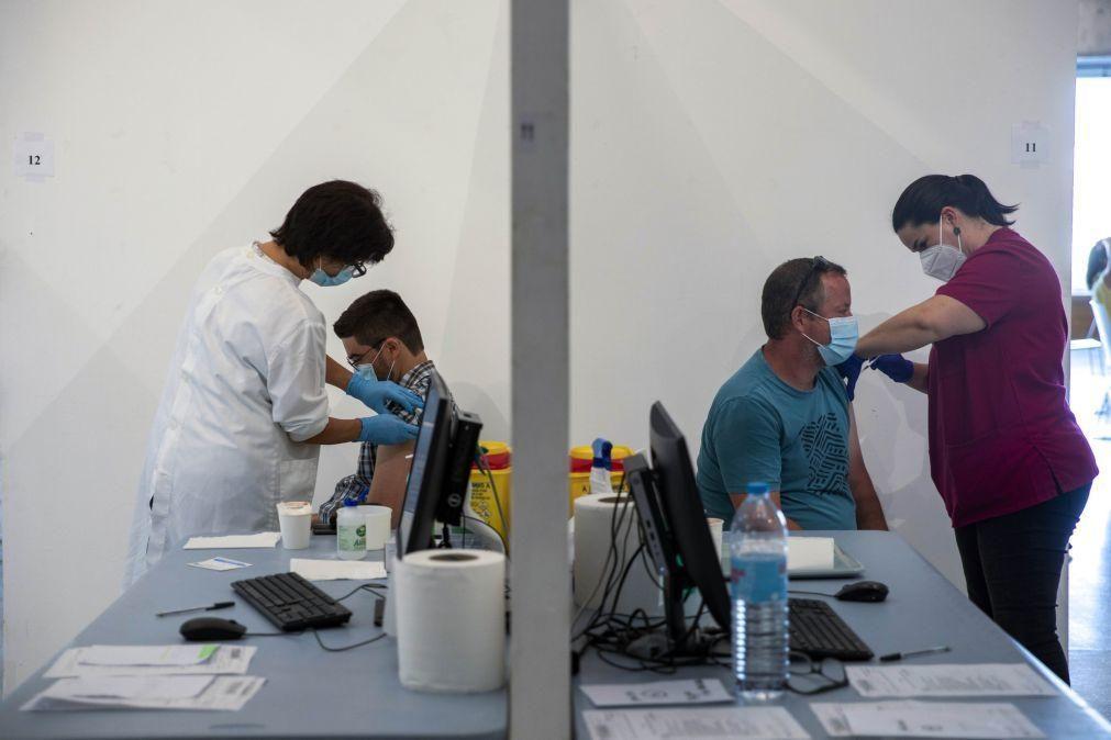 Covid-19: Portugal administrou um milhão de vacinas na última semana