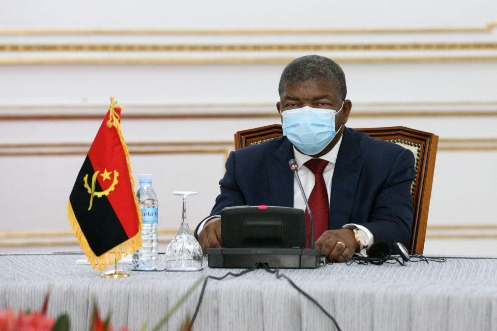 Presidente angolano reuniu-se com homólogo da Republica Centro-Africana hoje em Luanda