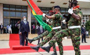 Presidente são-tomense condena