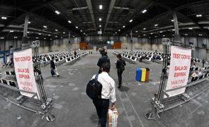 Covid-19: Incidência acumulada continua a subir em Espanha