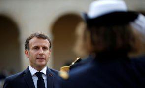 Covid-19: Macron anuncia vacinação obrigatória de profissionais de saúde a partir de 15 de setembro