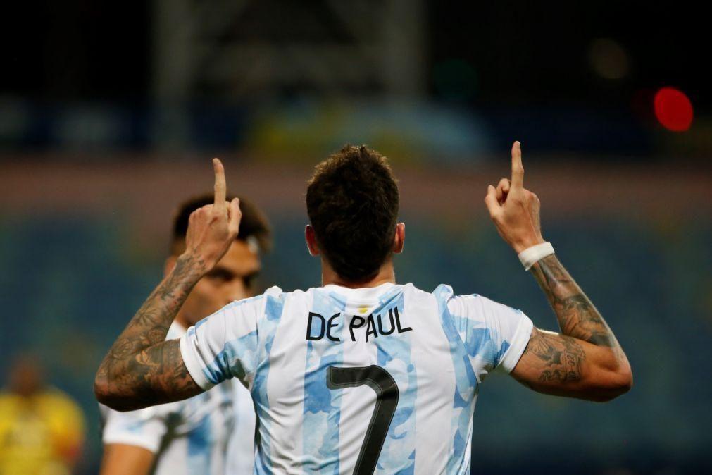 Atlético de Madrid confirma argentino Rodrigo de Paul até 2026