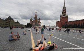 Covid-19: Rússia regista novo recorde com 780 óbitos nas últimas 24 horas