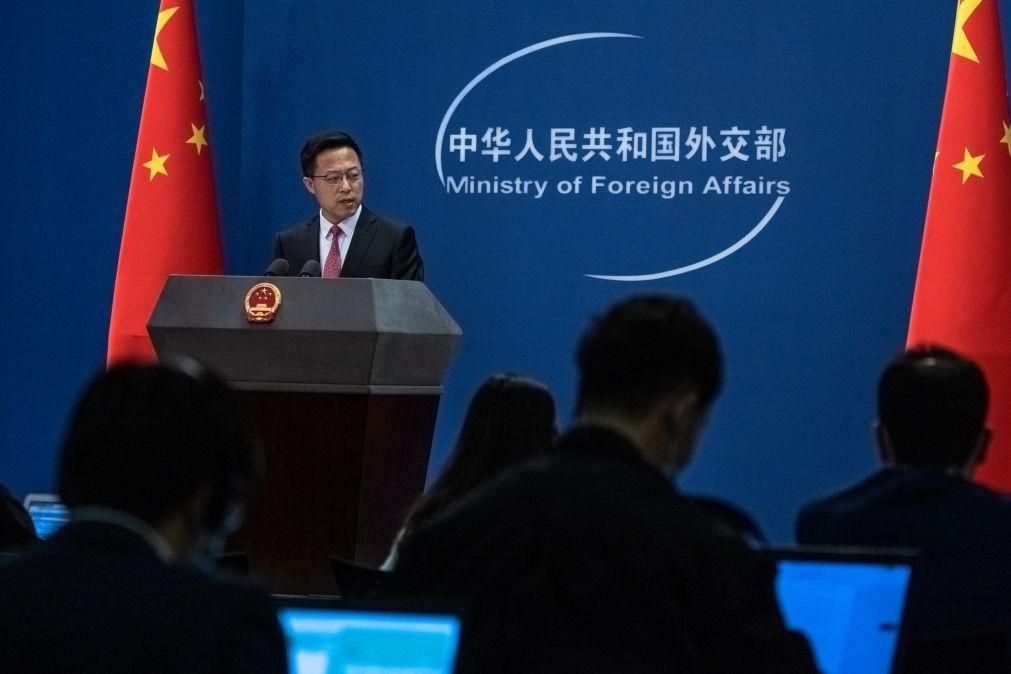 China critica EUA por apelo a