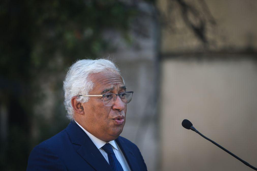 PRR: Costa salienta aprovação por unanimidade do plano português pela União Europeia