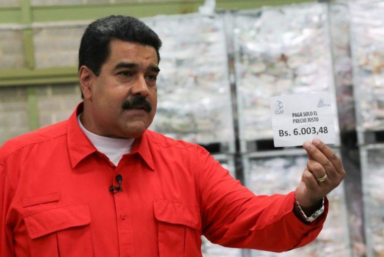 Nicolás Maduro anuncia aumento de 50% no salário mínimo dos venezuelanos