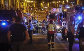 Moradores de prédio que ardeu em Lisboa realojados na Santa Casa da Misericórdia
