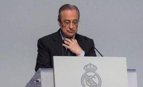 Florentino Pérez associa áudios sobre Casillas e Raúl à criação da Superliga