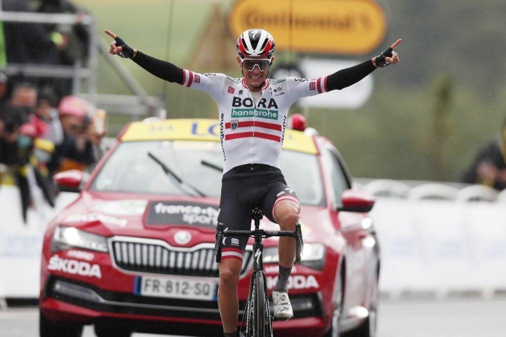 Tour: Austríaco Patrick Konrad ganha isolado a 16.ª etapa