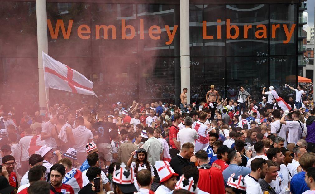 Euro2020: UEFA abre processo por incidentes na final de Wembley