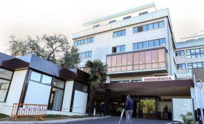 Covid-19: Hospitais São Francisco Xavier e Egas Moniz em Lisboa registam ocupação de 81,8%