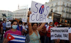 Human Rights Watch garante que detidos nas manifestações de Cuba são mais de 150