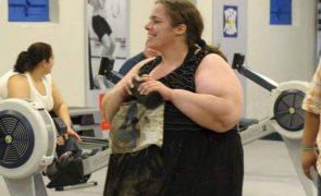 Susana Henriques Surpreendente! O antes e o depois de perder 100 quilos (Fotos)