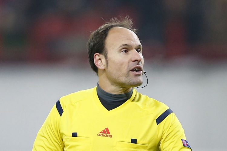 Espanhol Antonio Mateu Lahoz arbitra Benfica-Nápoles