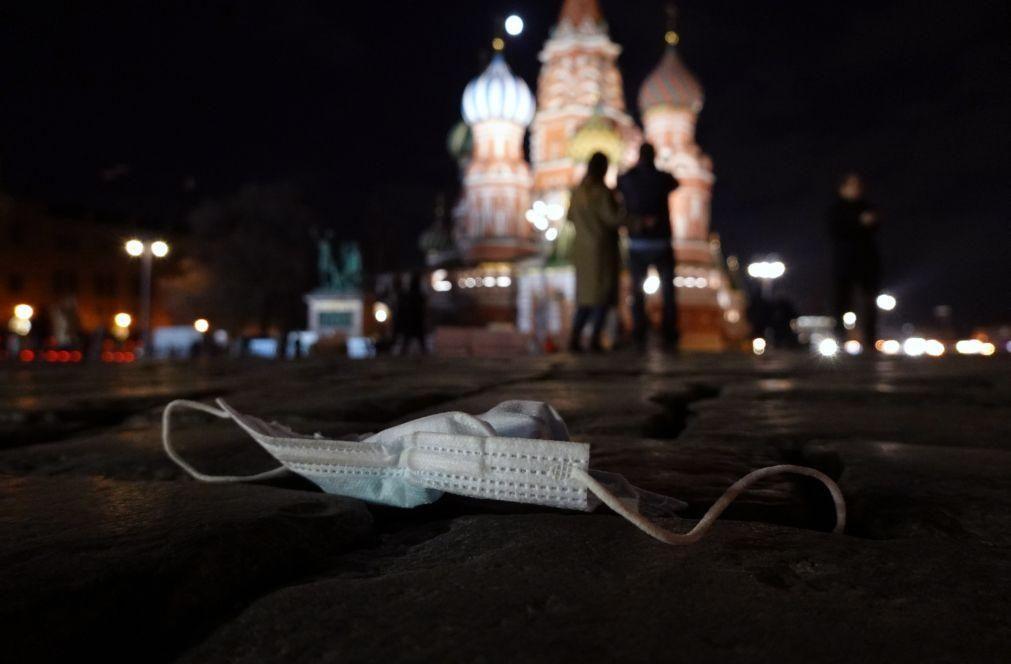 Covid-19: Rússia registou novo máximo de mortes com 786 óbitos
