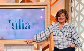 Júlia Pinheiro Regresso da apresentadora à antena da SIC já está marcado