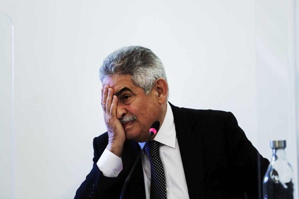 Benfica SAD dá 30 dias a Vieira para anular medida de coação ou será afastado