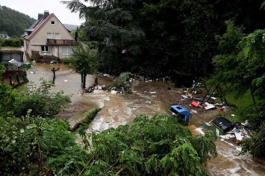 Chuvas intensas provocam cheias e subida dos rios em vários países na Europa