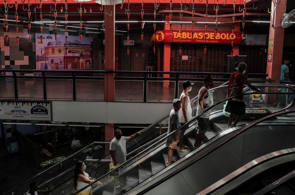 Atividade económica cai 0,43% em maio no Brasil