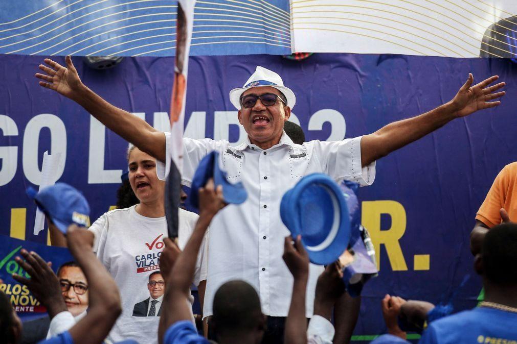 São Tomé/Eleições: Carlos Vila Nova sem casaco no boletim de voto por ser
