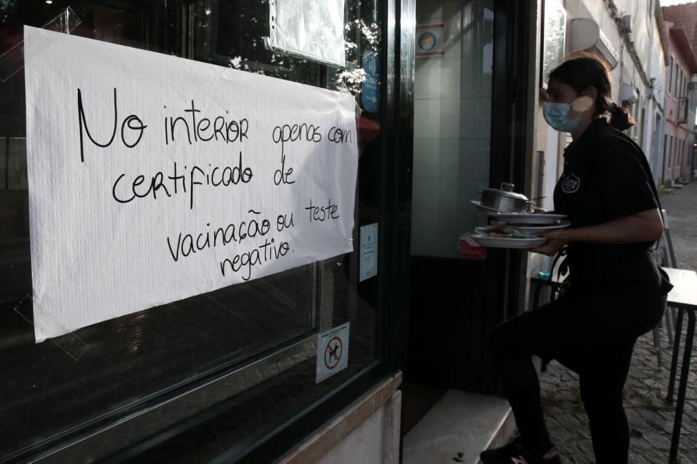 Covid-19: PRO.VAR quer fim dos autotestes e quer unidades de saúde à porta dos restaurantes