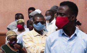 Covid-19: Angola com cinco mortes, 189 novos casos e 84 recuperações em 24 horas