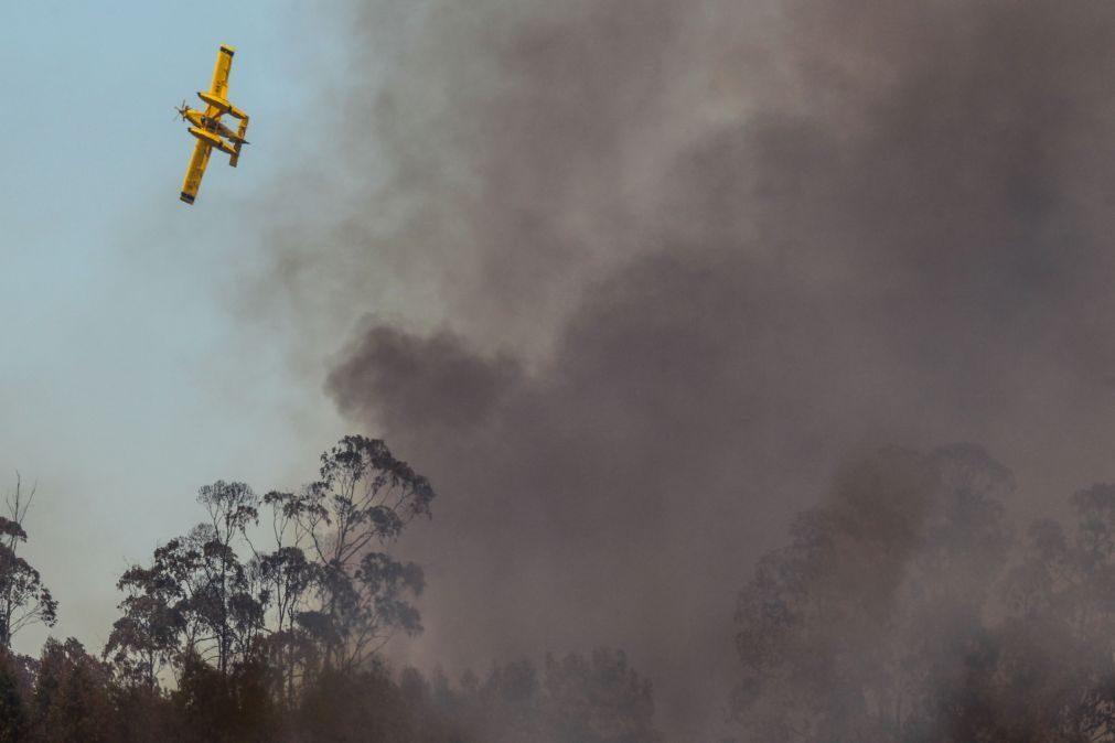 13 concelhos portugueses em risco 'máximo' de incêndio