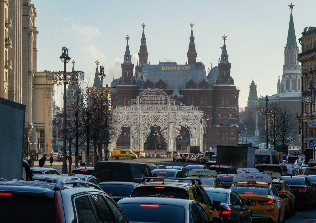 Forças de segurança russas detêm homem que preparava atentado em Moscovo