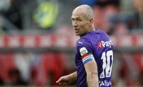 Arjen Robben encerra carreira de futebolista aos 37 anos