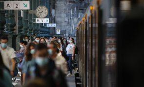 Covid-19: Medidas mais restritivas abrangem cerca de 6,6 milhões de pessoas em Portugal continental