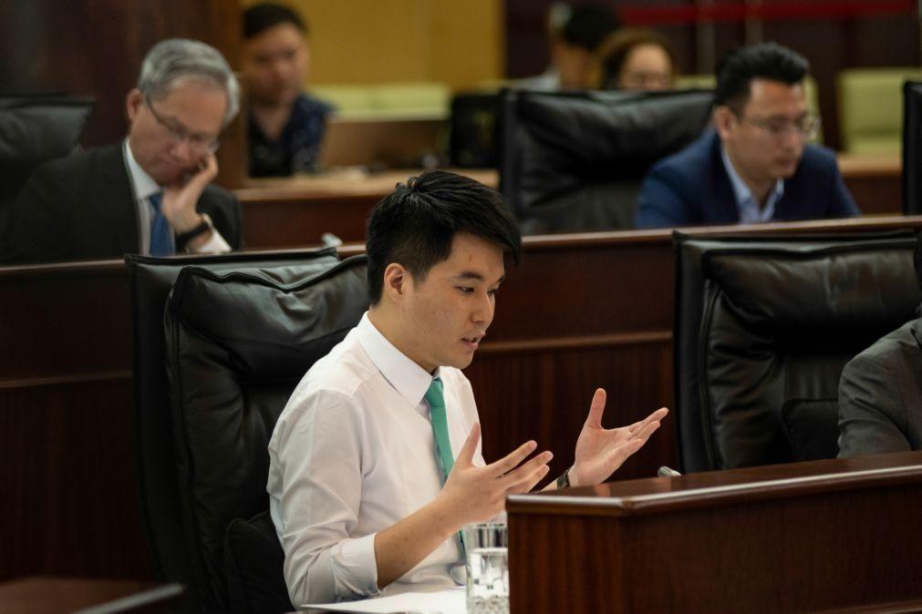 Deputado mais jovem de Macau