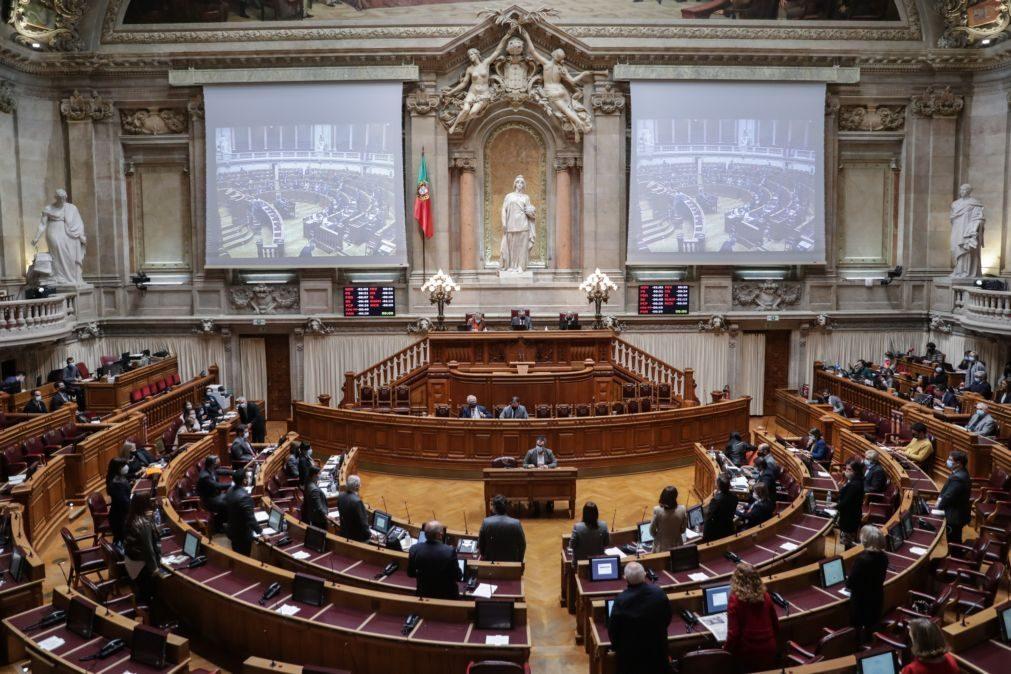 Covid-19: Um deputado infetado e 25 contactos de alto risco no parlamento isolados
