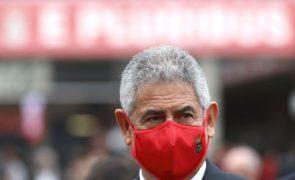 Luís Filipe Vieira apresentou demissão do Benfica através de carta