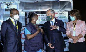 Covid-19: Vacinas doadas por Portugal a Angola começam a ser usadas já hoje