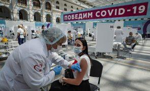 Covid-19: Rússia regista recorde de mortos pelo quarto dia consecutivo
