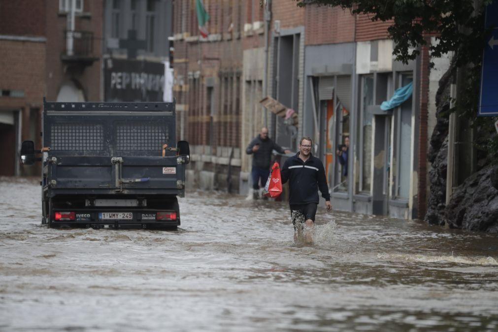 Bélgica pede ajuda devido a mau tempo e UE ativa Mecanismo de Proteção Civil