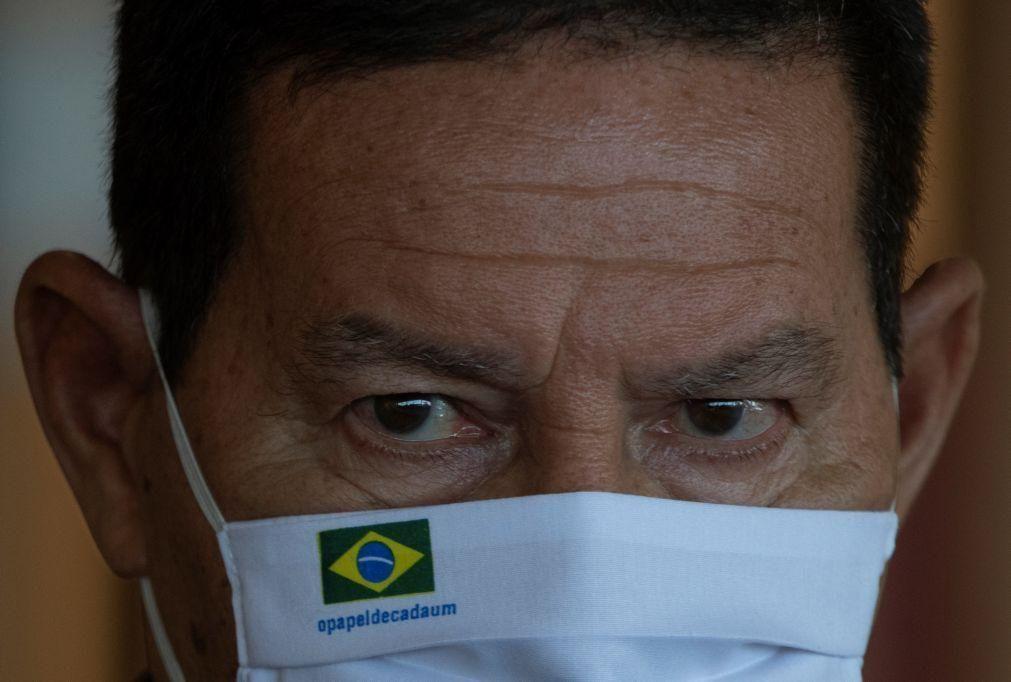 Moçambique/Ataques: Brasil disponível para apoio militar, caso seja pedido -- vice-PR