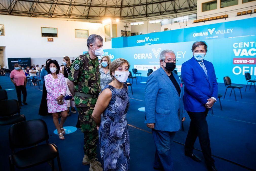 Covid-19: Ministra da Saúde diz que Lisboa poderá estar no pico da pandemia