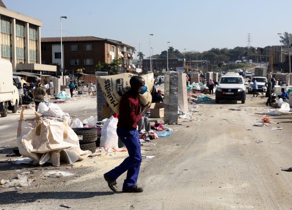 África do Sul: Presidência garante estar em curso regresso à