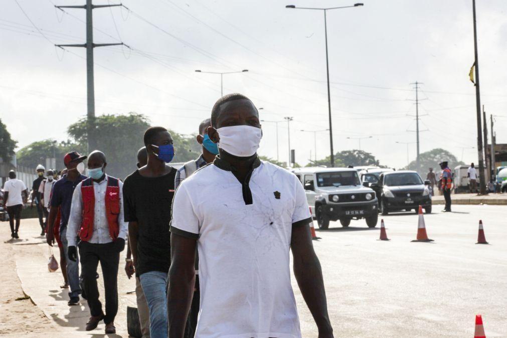 Covid-19: Angola reporta 101 novos casos, um óbito e 104 recuperações
