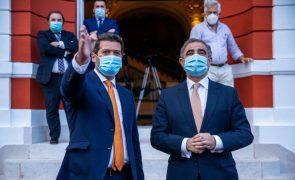 Presidente do Governo dos Açores e líder do Chega asseguram estabilidade