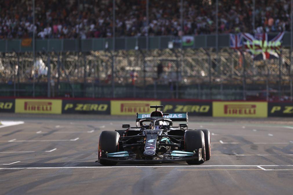 Hamilton mais rápido no novo sistema de qualificação estreado no GP da Grã-Bretanha