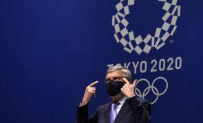 Tóquio2020: Caso de covid-19 na Aldeia Olímpica não representa risco para atletas - Bach