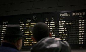 Sobe para 166 número de voos cancelados pela greve da Groundforce em Lisboa