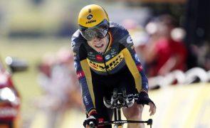 Tour: Van Aert vence contrarrelógio, Pogacar supera último teste