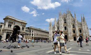 Covid-19: Itália com 3.121 casos diários, mais do dobro de há uma semana